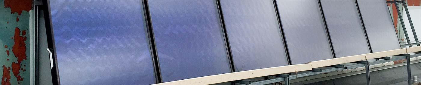 school solar panels